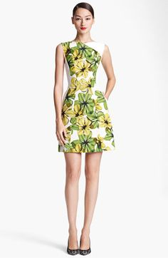 Jason Wu Print V-Back Dress available at #Nordstrom - Not my size, not my price range but so adorable!