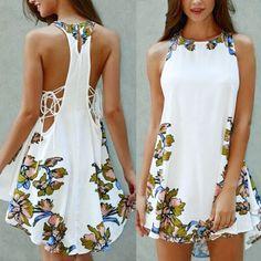 Vestidos Casual Summer Dresses, Trendy Dresses, Sexy Dresses, Cute Dresses, Short Dresses, Fashion Dresses, Dress Casual, Cute Fashion, Boho Fashion