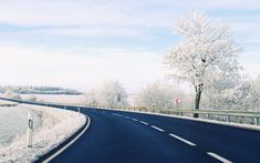 Winter Road wallpaper x Windows Wallpaper, Tree Wallpaper, Best Nature Wallpapers, Winter Wallpapers, Winter Road, Winter Background, Best Windows, Winter Photos, Amazing Nature