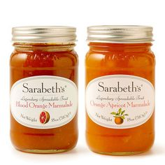 Sarabeth's Marmalade. We will be buying a few jars...