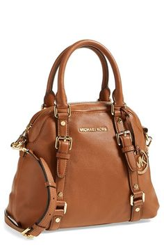 MICHAEL Michael Kors 'Medium Bedford' Bowling Satchel available at #Nordstrom