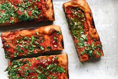Tomato and Herb Sourdough Focaccia – Flourist Dinner Party Appetizers, Sourdough Recipes, How To Can Tomatoes, How To Dry Oregano, Foods To Eat, Balsamic Vinegar, Vegetable Pizza, Herbs, Snacks