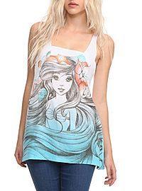 Little Mermaid Tank from Hot Topic... Just bought this today!!!! :)