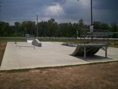 Bay Minette, AL  - Skateboard Park is on McMeans Avenue, next to Halliday Park and across from the Bay Minette Post Office.