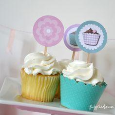 Cupcake Party Printable FREEBIES
