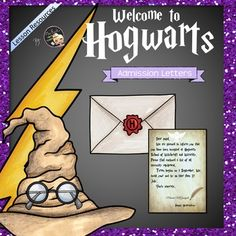 Back to school lesson - Harry Potter Themed! Let's be a wizard!