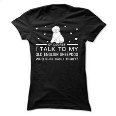 Old English Sheepdog - #pink sweatshirt #sweater vest. GET YOURS => https://www.sunfrog.com/Pets/Old-English-Sheepdog-58101349-Ladies.html?68278