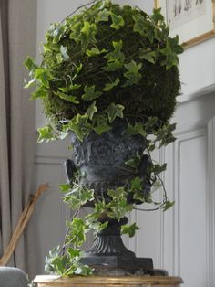 DSC03410 Pretty Flowers, Fresh Flowers, French Cottage Garden, Moss Decor, Provence Garden, Deco Nature, Modern Flower Arrangements, Garden Urns, Deco Floral