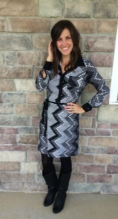 What I'm Wearing: Karen Kane for All Occasions #RealMomStyle - momma in flip flops