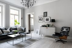 modern Scandi living room from Design Therapy Scandi Living Room, Living Room Grey, Living Room Decor, Brown Leather Chairs, Gravity Home, Cool Rooms, Grey Walls, Room Colors, Living Room Designs