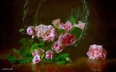 Tagged - The social network for meeting new people Still Life Photography, Glass Vase, Tags, Artist, Painting, Beautiful, Mary Elizabeth, Bouquets, Basket