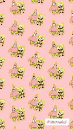 Wallpaper Bob Esponja Patrick In 2019 Spongebob within The Brilliant Spongebob and Patrick Wallpapers Backgrounds - All Cartoon Wallpapers Spongebob Iphone Wallpaper, Disney Phone Wallpaper, Cartoon Wallpaper Iphone, Iphone Background Wallpaper, Cute Cartoon Wallpapers, Pretty Wallpapers, Aesthetic Iphone Wallpaper, Iphone Wallpapers, Spongebob Background