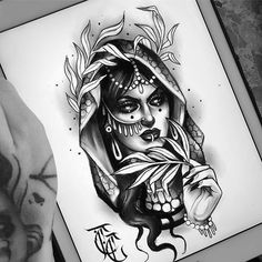 Upcoming guests & convention Tattoo Sketches, Tattoo Drawings, Neo Tattoo, Tattoo Art, Handpoked Tattoo, Girl Face Drawing, Tatuagem Old School, Neo Traditional Tattoo, Tattoo Designs For Women