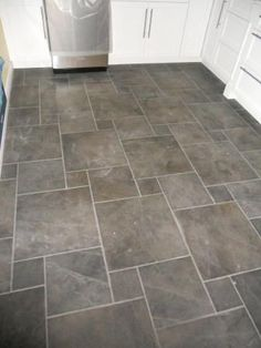 Best 12 Decorative Kitchen Tile Ideas | Slate flooring, Slate and ...