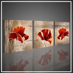 Obraz FLOWERS Flag, Paintings, Flowers, Art, Craft Art, Paint, Painting Art, Florals, Kunst