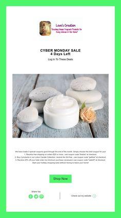 CYBER MONDAY SALE  4 Days Left 4 Days Left, Cyber Monday Sales, New Fragrances, Products, Gadget