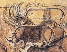 Chauvet-Pont d'Arc, rhinos