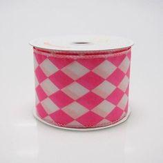 Harlequin Diamond Poly Ribbon, 2-1/2-inch, 10-yard