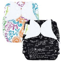 One pinner said: ALBERT print! Love it! bumGenius Elemental (Organic) One-Size All-In-One Cloth Diaper, FREE SHIPPING, Sweetbottoms Baby Boutique, Baby Store $24.95