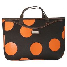 I pinned this Large Bubbles Laptop Sleeve in Orange from the Hadaki event at Joss and Main!