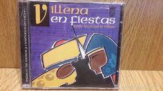 VILLENA EN FIESTAS. BANDA MUNICIPAL. MÚSICA DE MOROS Y CRISTIANOS. CD / KRB…