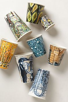 Ceramic Sketch Cup #anthrofave