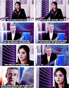 [gifset] 8x11 Dark Water #ClaraOswald #DoctorWho I'm crying now