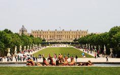 Bike Tours...Fat Tire - Versailles chateau