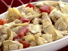 Marsala Artichokes recipe from Sandra Lee via Food Network