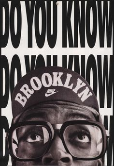 spike lee nike brooklyn do you know advert nike