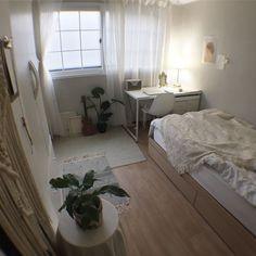 minimalist storage ideas for your small bedroom 6 Small Room Bedroom, Dorm Room, Bedroom Decor, Bedroom Simple, Kids Bedroom, Blue Bedroom, Trendy Bedroom, Uni Room, Bedroom Storage