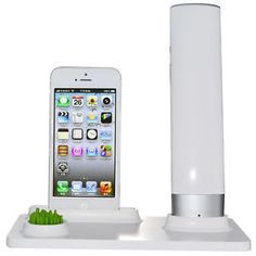 Wireless Bluetooth AntiRadiation Mobile Handset Charge Dock Charger For iPhone 5