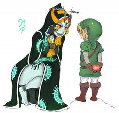 The Legend of Zelda Twilight Princess, Link, Midna
