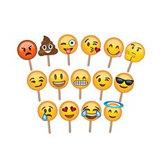Emoji Party Ideas - Emoji Birthday Party - FREE Emoji Party Printables - Emoji Cookies, Emoji Desserts, Emoji Ideas - Teen Birthday Party Ideas.