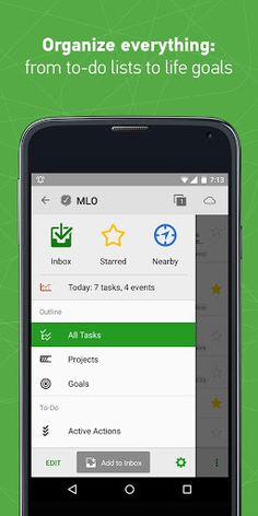 MyLifeOrganized v2.3.19 [Pro]   MyLifeOrganized v2.3.19 [Pro]Requirements:4.0Overview:MyLifeOrganized is an easy-to-use yet powerful and intuitive to-do list task manager and outliner.  MyLifeOrganized (MLO) is the most flexible and powerful task management software for getting your to-dos finally done. MLO 2 for Android leads to a new level of productivity - you will be able to manage not only tasks but projects habits and even life goals on your smartphone and tablet. Optional contexts…