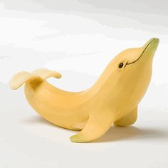 Dolphin banana.... this makes me so happy!