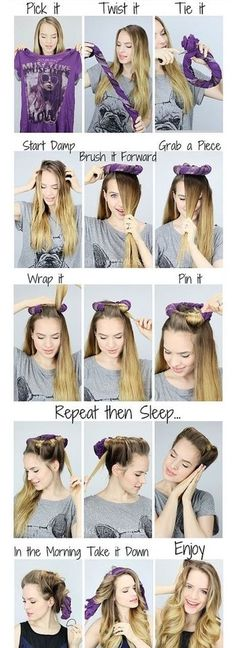 Heatless Halo Curls hair beauty long hair curls how to diy hair hair tutorial hairstyles tutorials hair tutorials easy hairstyles curlss Super Easy Hairstyles, Wavy Hairstyles Tutorial, Curled Hairstyles, Diy Hairstyles, Latest Hairstyles, Wedding Hairstyles, Heatless Hairstyles, Hairdos, Beautiful Hairstyles