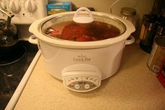 Homemade Homemaking: Crock Pot Pasta Sauce