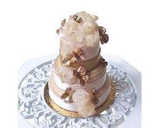 Miniature Gâteau de mariage échelle 1:12 / Pâtisserie miniature boulangerie / gateau maison poupée nourriture / Dollhouse roombox decoration
