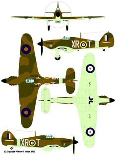 ^_^ Ww2 Fighter Planes, Ww2 Planes, Fighter Aircraft, Navy Aircraft, Ww2 Aircraft, Military Aircraft, Hawker Hurricane, Aircraft Painting, Battle Of Britain