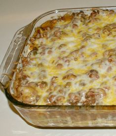 to Adapt Mexican Casserole Life is Sweeter By Design, casserole, Beef Rice Casserole Kraft Recipes. Easy Hamburger Casserole, Easy Mexican Casserole, Easy Casserole Recipes, Chicken Casserole, Taco Casserole, Casserole Dishes, Meat Recipes, Mexican Food Recipes, Cooking Recipes