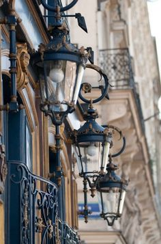 Paris Outdoor Lighting