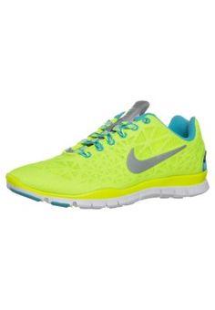 FREE TR FIT 3 - Zapatillas fitness e indoor - amarillo