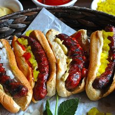 wildideabuffalo — Uncured Smoked Buffalo Hot Dogs *New Recipe!