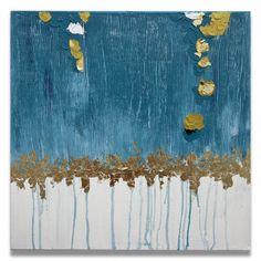 Esta é uma pintura feita pela artista Mel Gama.  Arte em tons de azul, branco e folha de ouro. Peça bem moderna e posso fazer uma pintura semelhante em outros tamanhos a combinar. TÍTULO: Tudo Azul DIMENSÕES: 50 x 50 x 3cm (Tela em 3D) MÉDIUM: Acrílico em tela  As laterais também são pintadas e chegarão prontos para exibição.  A simulação da decoração pode não estar com escala correta - é somente para se ter uma ideia.  Todas minhas pinturas são originais. São criados por mim a partir de uma…