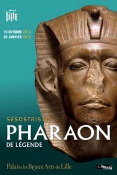Catalogue d'exposition Sésostris III, Pharaon de légende - Palais des Beaux-arts de Lille
