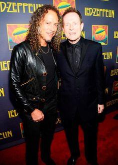 Kirk Hammett and Jonesy-2012