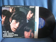 RARE Vintage The Rolling Stones  Out Of Our by sweetleafvinyl, $17.99