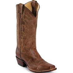 2680 Justin Men's Vintage Goat Western Boots - Tan Distressed www.bootbay.com
