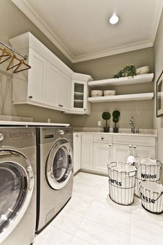 Lean for 2016: Laundry Room — Colors and Craft